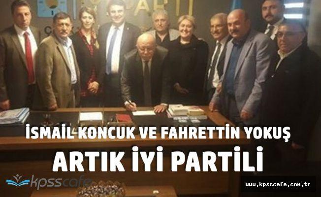 Türkiye Kamu-Sen'in Efsane İsimleri İsmail Koncuk ve Fahrettin Yokuş Artık İYİ Partili