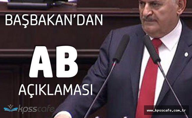 Başbakan Binali Yıldırım'dan AB Açıklaması 'İşaret Göremedik'
