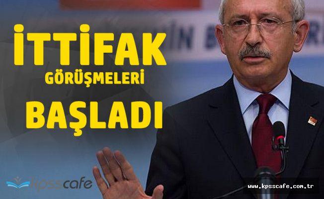 Kemal Kılıçdaroğlu'ndan Açıklama 'İttifak Görüşmeleri Başladı'
