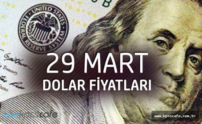Tarihi Zirveyi Görmüştü! 29 Mart 2018 Dolar Fiyatları!