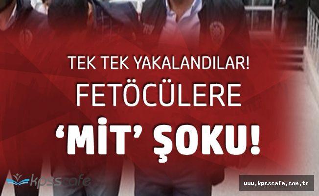 Fetullahçı Teröristlere 'MİT' Şoku! Türkiye'ye Getirildiler