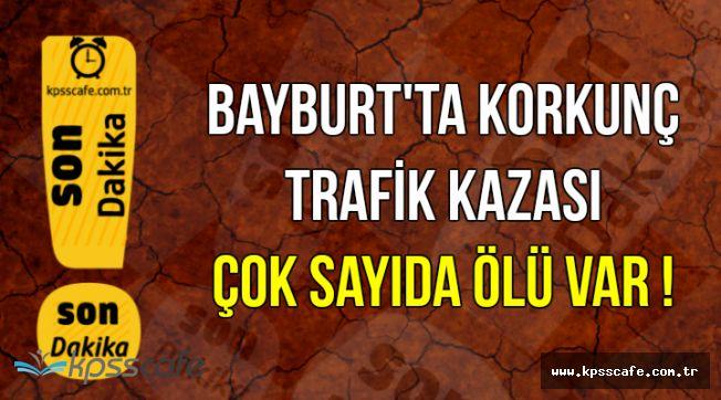 Bayburt'ta Korkunç Trafik Kazası: 6 Ölü