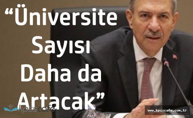 Sağlık Bakanı Demircan: Üniversite Sayılarını Daha Da Arttıracağız