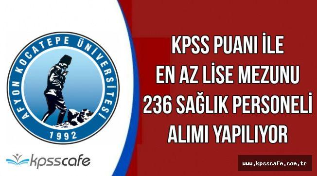 KPSS ile Mülakatsız 236 Kamu Personeli Alımı Yapılıyor-İşte Başvuru Şartları ve Detaylar