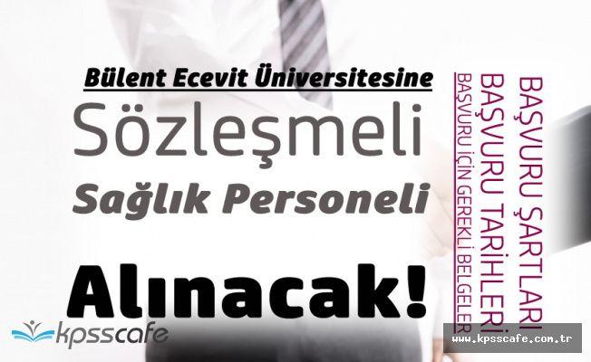 Bülent Ecevit Üniversitesine 52 Sözleşmeli Sağlık Personeli Alınacak! Başvurular Yarın Başlıyor