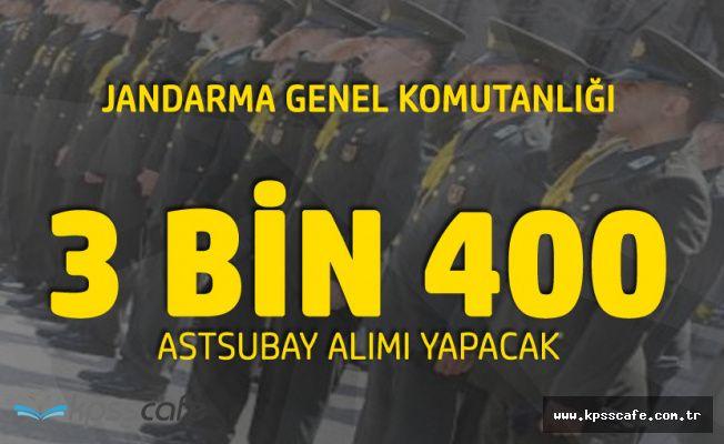 Jandarma Genel Komutanlığı 3 Bin 400 Sözleşmeli Astsubay Alımı Yapacak