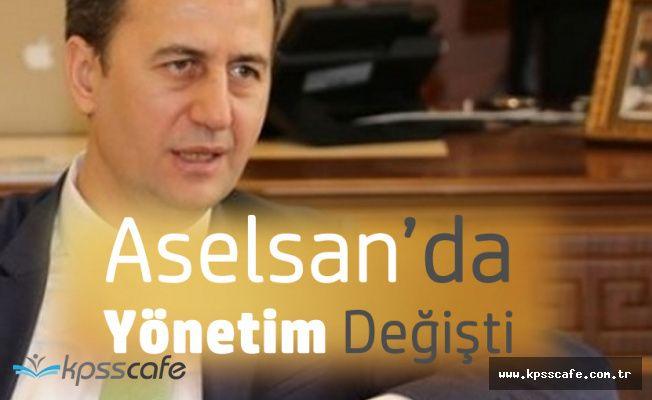 Aselsan'da Yeni Yönetim Belli Oldu! İşte Yeni Başkan