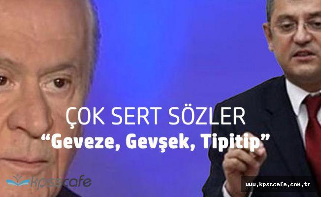 Bahçeli'den CHP Grup Başkanvekiline 'Tipitip'