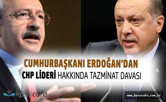 Cumhurbaşkanı Erdoğan'dan Kılıçdaroğlu'na 500 Bin TL'lik Tazminat Davası