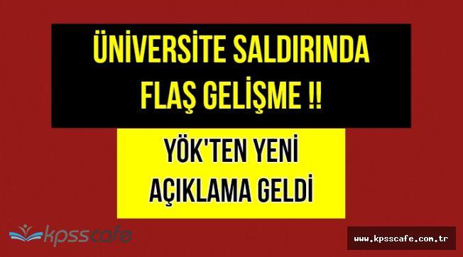 Eskişehir'deki Üniversite Saldırısında Flaş Gelişme !