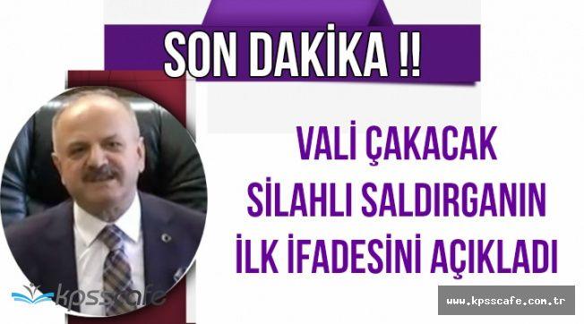 Eskişehir'deki Saldırının Perde Arkasını Vali Açıkladı