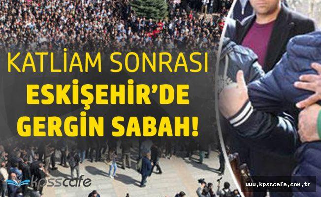 Eskişehir'de Katledilen Akademisyenler için Düzenlenen Törende Gerilim