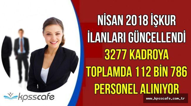 İŞKUR İlanları Güncellendi: 3277 Kadroya 112 Bin 786 Memur Personel Alımı Yapılıyor