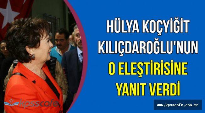Hülya Koçyiğit'ten Kılıçdaroğlu'na Yanıt Geldi