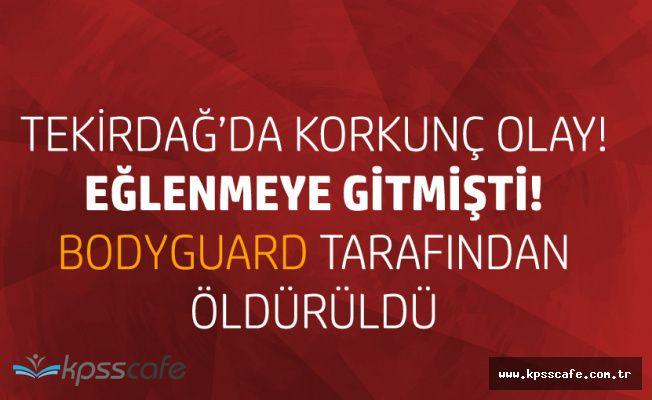 Tekirdağ Marmara Ereğlisi'ndeki Gece Kulübünde Dehşet!