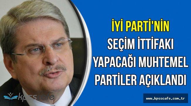 İYİ Parti'nin Seçim İttifakı Yapabileceği Muhtemel Partiler Açıklandı