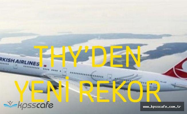 Türk Hava Yolları Uçuşunu Sürdürüyor! İlk Çeyrekte Rekor