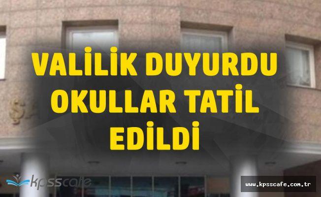 Şanlıurfa'da Çarşamba Günü Okullar Tatil Edildi