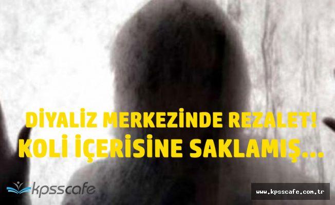 Edirne'de Rezil Olay! Koli İçerisine Saklamış...
