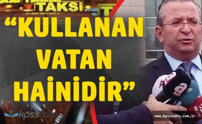 İstanbul Taksiciler Birliği Başkanı:Uber Kullanan Vatan Hainidir