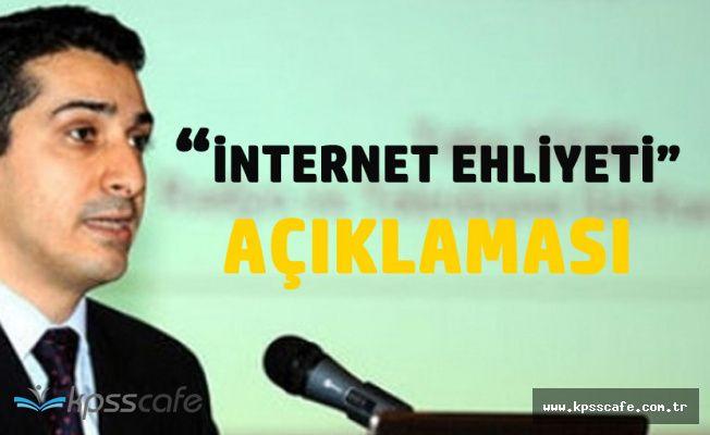 RTÜK Üst Kurulu Üyesinden 'İnternet Ehliyeti' Açıklaması