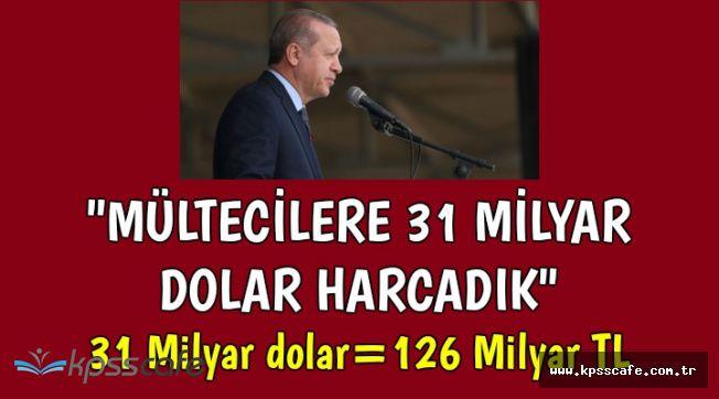 """Cumhurbaşkanı: """"Mültecilere 31 Milyar Dolar Harcadık"""""""