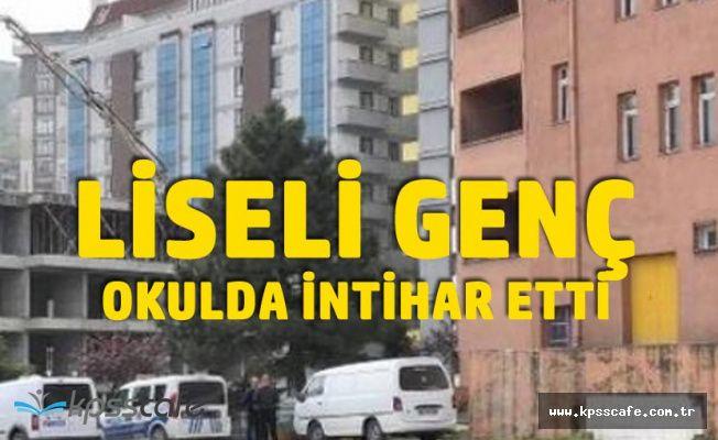 Zonguldak Kozlu'da Dehşet! Liseli Kız Camdan Atladı