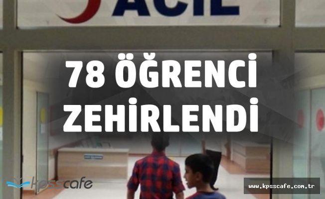 Kütahya'da 78 Öğrenci Zehirlenme Şüphesiyle Hastaneye Kaldırıldı