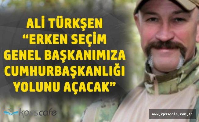 İYİ Partili Türkşen : Genel Başkanımıza Cumhurbaşkanlığı Yolunu Açan Herkese Teşekkür Ederim