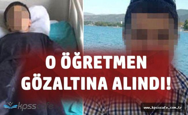 10 Yaşındaki Çocuğa Uçan Tekme Atan Öğretmen Gözaltına Alındı