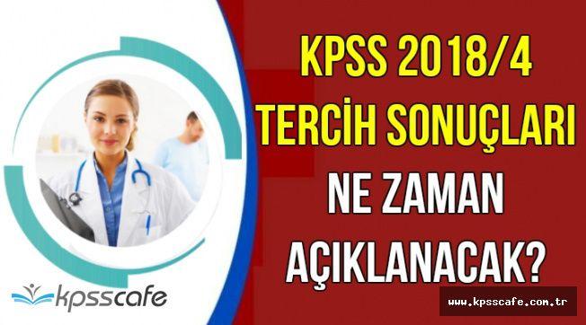 KPSS 2018/4 9 Bin Personel Alımı Tercih Sonuçları Ne Zaman Açıklanacak?