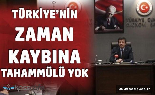 Ekonomi Bakanı'ndan Erken Seçim Açıklaması : Türkiye'nin Zaman Kaybına Tahammülü Yok