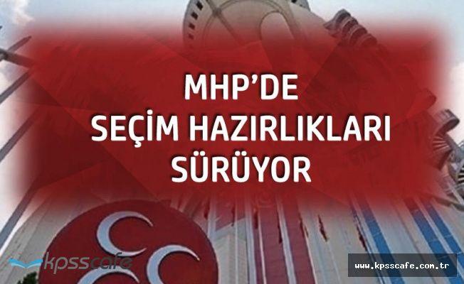 MHP Seçim Hazırlıklarına Hız Verdi! Aday Adaylığı için Kayıt Bürosu Kuruldu