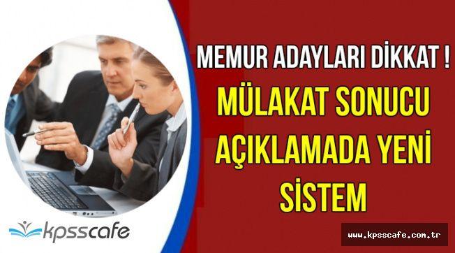 KPSS ile Atama Bekleyen Memur Adayları Dikkat !