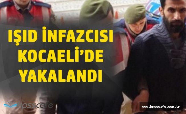 Kafa Kesen DAEŞ'li Terörist Kocaeli'de Yakalandı