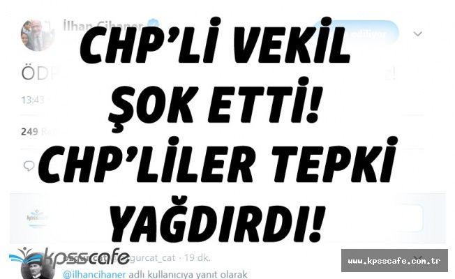 CHP Milletvekili Cihaner'den İYİ Parti Tepkisi