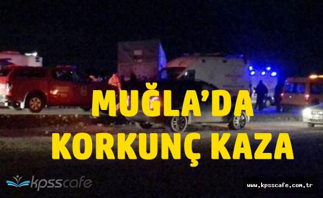 Otostopla Bindikleri Araç Kaza Yaptı! 2 Kişi Öldü, 1 Kişi Yaralandı