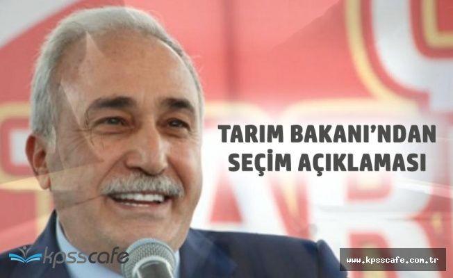 Tarım Bakanı : Halkımız Cumhurbaşkanımızı Yeni Sistemin Başında Görmek İstiyor