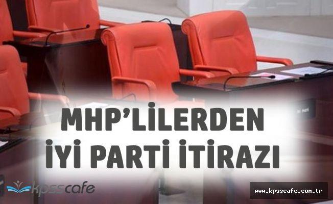 TBMM'de İYİ Parti Gerginliği! MHP'liler İtiraz Etti