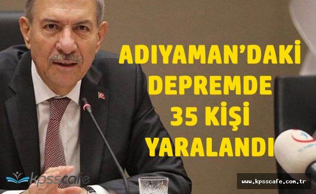 Sağlık Bakanı Demircan'dan Deprem Açıklaması '35 Yaralımız Var'