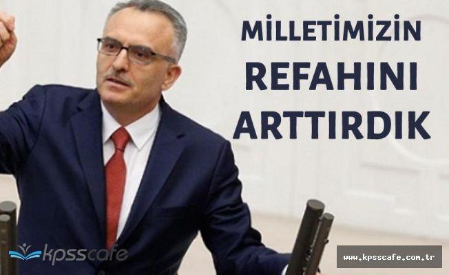 """Maliye Bakanı: """" 16 Yılda Milletimizin Refahını Arttırdık"""""""