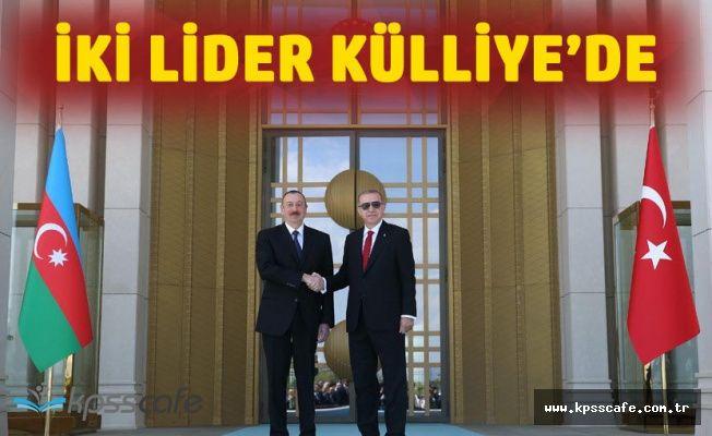 Azerbaycan Cumhurbaşkanı Aliyev Cumhurbaşkanlığı Külliyesinde