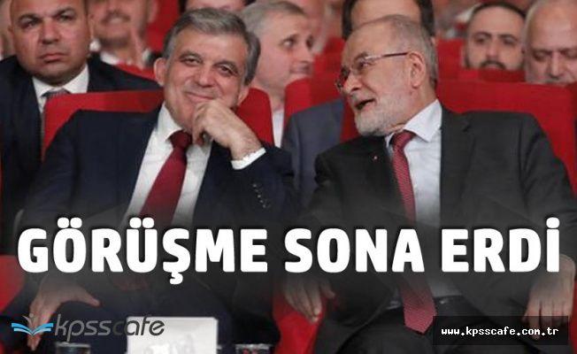 Temel Karamollaoğlu, Abdullah Gül Görüşmesi Sona Erdi