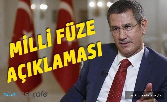 Bakan Canikli'den Milli Savunma Füzesi Açıklaması : Detayları Anlatsam Kılıçdaroğlu'nu Unutursunuz