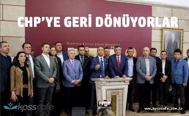 İYİ Parti'ye Geçen 15 Milletvekili CHP'ye Geri Dönüyor
