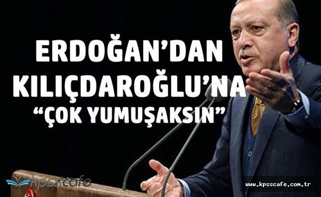 """Cumhurbaşkanı'ndan Kılıçdaroğlu'na 'Yumuşaksın, Sende Her Huy Var , Gel Aday Ol"""""""