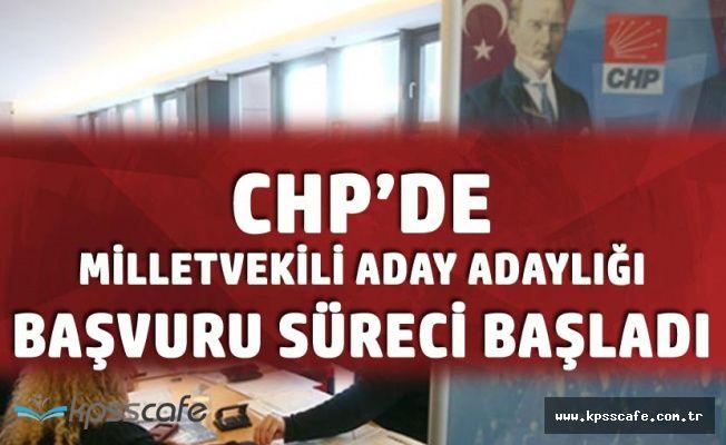 Cumhuriyet Halk Partisi (CHP) Milletvekili Aday Adaylığı Başvuruları Başladı