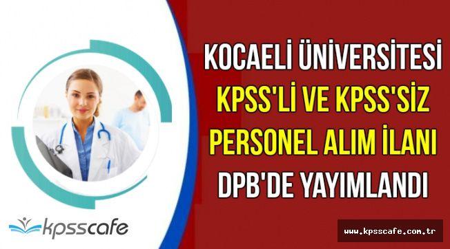 Az Önce Yayımlandı: KPSS'li ve KPSS'siz 25 Kamu Personeli Alımı Yapılacak