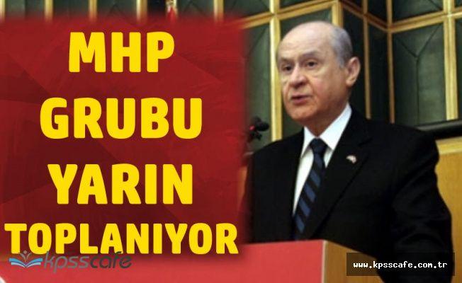 MHP Cumhurbaşkanı Erdoğan'ın Adaylığı için Toplanıyor