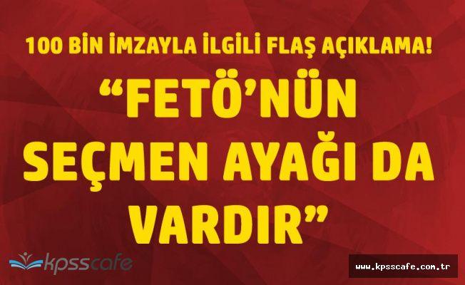 Devlet Bahçeli'den Flaş Açıklama 'FETÖ'nün Seçmen Ayağı da Var!'